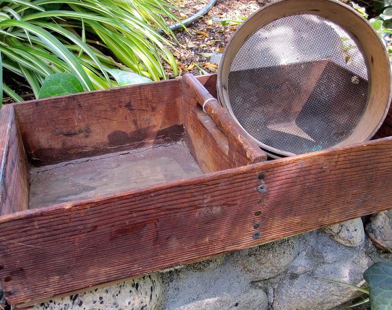 Trug and Sifter